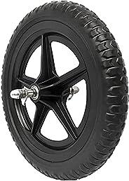 EIRONA 12 Inch Balance Bike Replacement Wheel, EVA Foam Balance Bike Wheel, Black