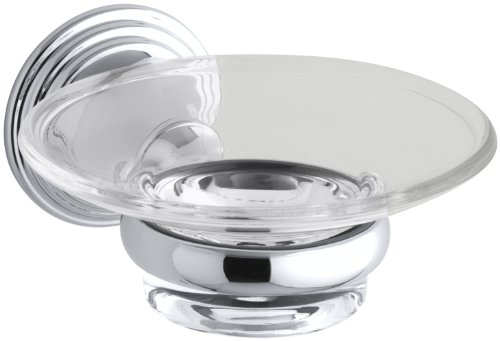 KOHLER K-10560-CP Devonshire Soap Dish, Polished Chrome