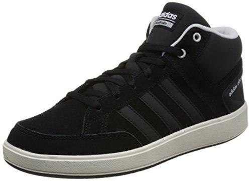 adidas Herren CF All Court Mid Fitnessschuhe schwarz (Negbas / Negbas / Griuno)