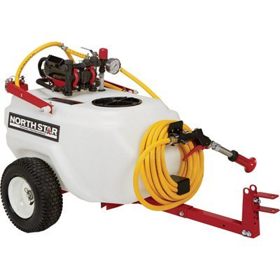 - NorthStar High-Pressure Tow Behind Tree/Orchard Sprayer - 21 Gallon, 2 GPM, 12 Volt
