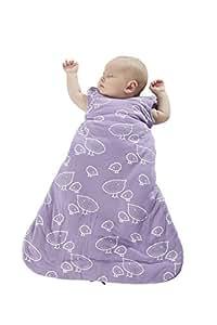 Gunapod Newborn Swaddle Sack 5-Way Swaddling Blanket Luxury 95% Rayon Bamboo Sleeping Bag with WONDERZiP