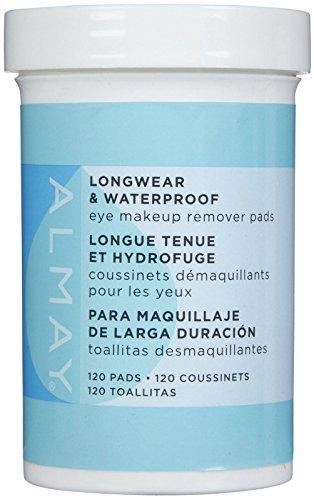 Almay Longwear & Waterproof Eye Makeup Remover Pads - 120 ct