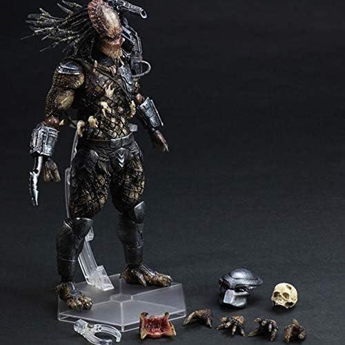 Predator: Predator schaal PVC litteken action figure-PVC karakter model-woondecoratie-auto decoratie-geschikt voor tieners maat 40 cm