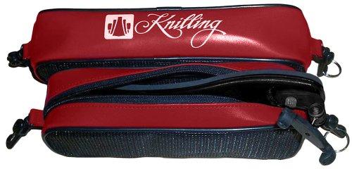 Shoulder Rest Bag - Knilling Deluxe Shoulder Rest Pouch for violin/viola; brick red