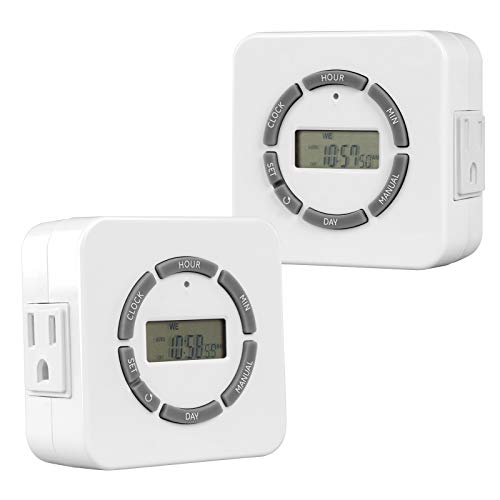 digital appliance timer grounded - 2