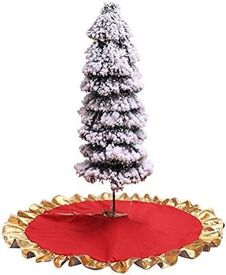 Sahgsa Manta De Árbol De Navidad 90Cm Falda De Árbol De Navidad ...