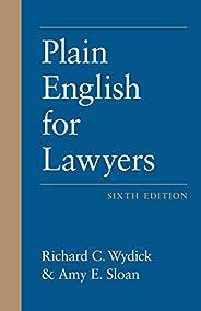 Plain English for Lawyers, Sixth Edition (English Edition)