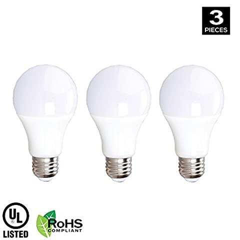 Xtricity A19 12V LED Light Bulb, 10W (60W Equivalent), E26 Medium Base, 3000K Soft White, 800 Lumens, RV Lighting, Boat Lighting, Low Voltage Lighting, UL Listed, FCC and RoHS Compliant, (Pack of - Screw In Led Bulbs