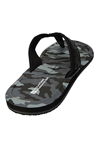 Camo Flops Summer Flip Camo Lightweight Mountain Sandals Warehouse Black wFqzfqOxa