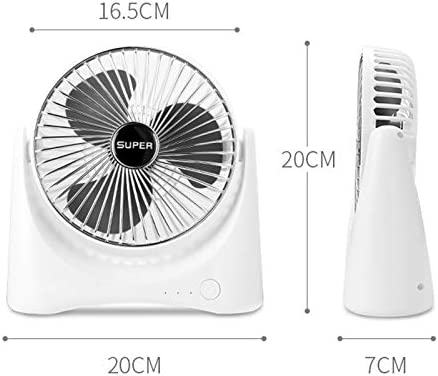 Color : Gold CellphoneMall USB Desk Personal Fan 168 4.5W USB//Dry Battery Powered Mini Portable Three-Speed Adjustable Desktop Household Air Circulation Fan Gold