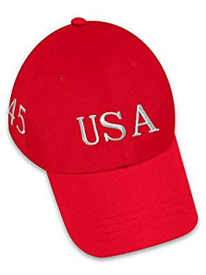 President Trump USA Baseball Hat 100% Brushed Cotton