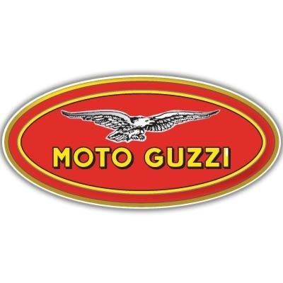 Moto Guzzi Motorcycle Vynil Car Sticker Decal - Select Size