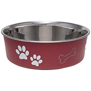 Loving Pets Bella Bowls Merlot Red (Small)