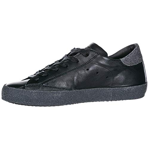 Model Paris Metal Sneakers Noir Philippe Donna WTz7AavAq