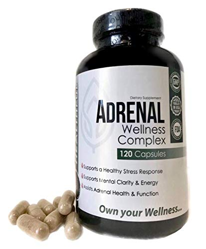 Adrenal Wellness Complex -with Natural Ingredients to