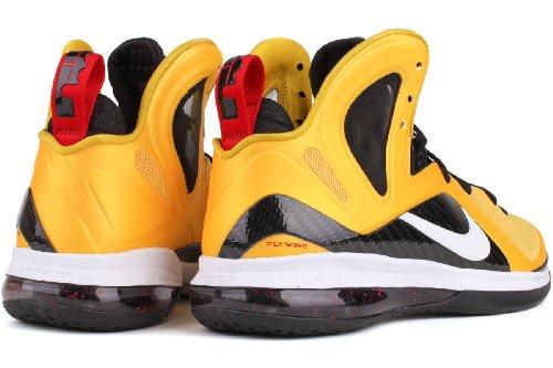 Nike Lebron 9 Ps Elit Mens Basketskor 516.958 Till 700 Gula