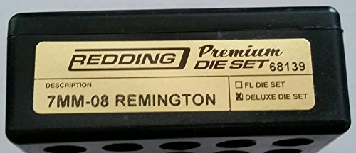 Redding Premium Series Deluxe 3-Die Set 7mm-08 Remington by Redding