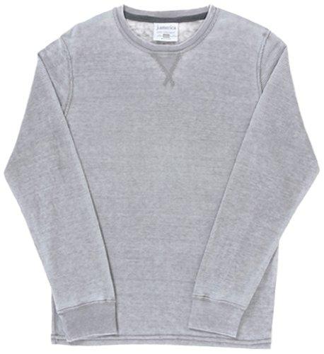 Burnout Thermal Shirt - Vintage Zen Thermal Long Sleeve TEE