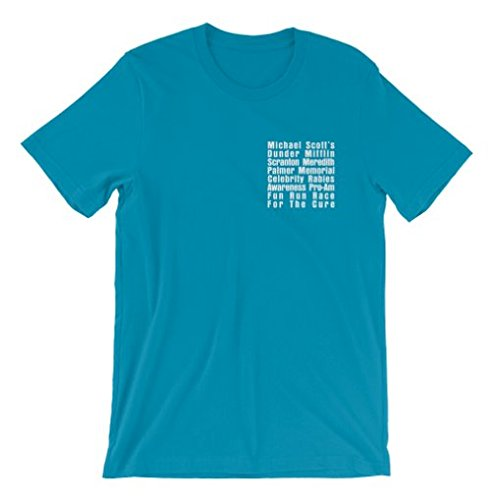 082910d88 T-Line Men's The Office TV Series Fun Run Graphic T-Shirt, Sapphire