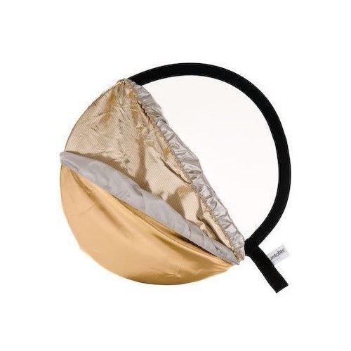 Lastolite 5 : 1 125 cm Bottletop Diffuser – ゴールド/ホワイト/サンファイア/シルバー   B0096WK274