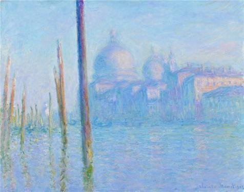 Penguin Belted Belt ('The Great Canal In Venice, 1908 By Claude Monet' Oil Painting, 18x23 Inch / 46x58 Cm ,printed On Perfect Effect Canvas ,this Beautiful Art Decorative Canvas Prints Is Perfectly Suitalbe)