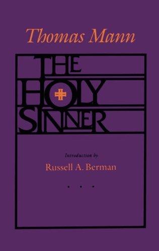 The Holy Sinner by Thomas Mann