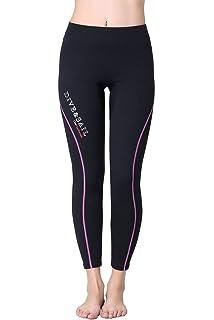 e51d39540f2f BANFEI Hombre Mujer Bañador de Competición Largo Pantalones para ...