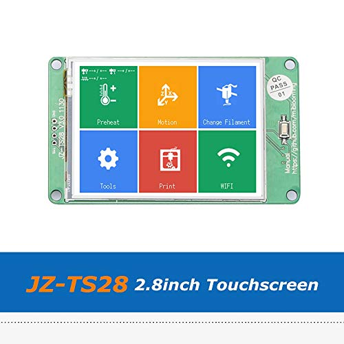Zamtac 1pc 3D Printer Parts JZ-TS28 2.8inch Full Color Touch Screen Board Compatible with Ramps1.4 MKS Board by GIMAX (Image #2)