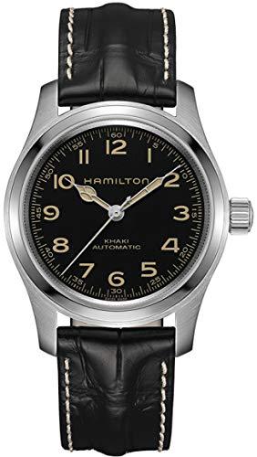 Hamilton H70605731 Khaki Field Murph Auto Men's Watch Black Leather 42mm