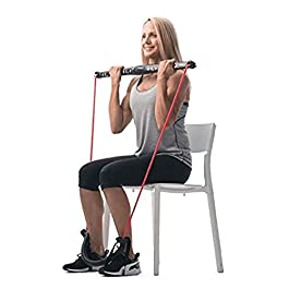 OLIZA Health & Fitness Foldable Multi-Fit High Resistance 7 in 1 Body Training Home Gym, 1Pc