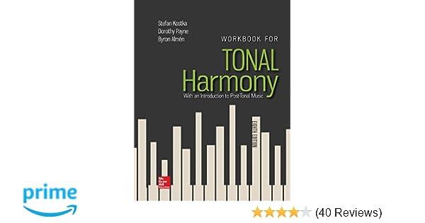 Workbook For Tonal Harmony Stefan Kostka Tonal Harmony