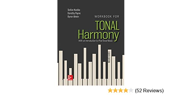Tonal harmony 8th edition workbook answer key pdf | Tonal ...