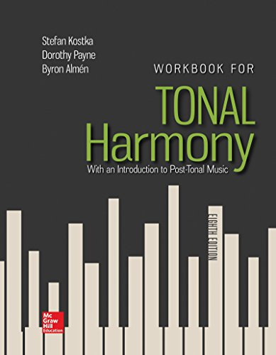 Harmony Cherry - Workbook for Tonal Harmony