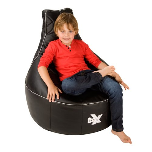 chair for kids. i-ex® rookie gaming chair -faux leather - kids bean bag for