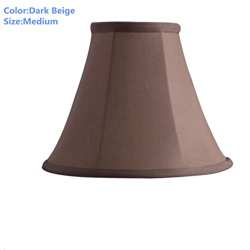 Lamp Shade Spider fitting Bell Shape Polyester Nylon Lampsha