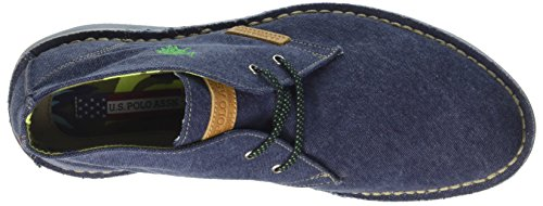 Uomo Blu Blu Canvas ASSN Alto Amadeus14 Collo S POLO Sneaker U a wq1zSFF