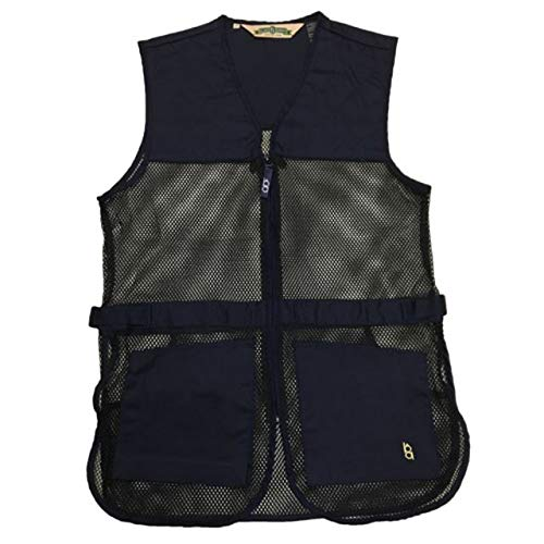 Boyt Harness Dual Pad Shooting Vest, Navy, 4X by Boyt Harness