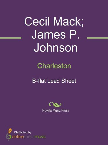 Download Charleston - B-flat Lead Sheet book pdf | audio id:e8guige