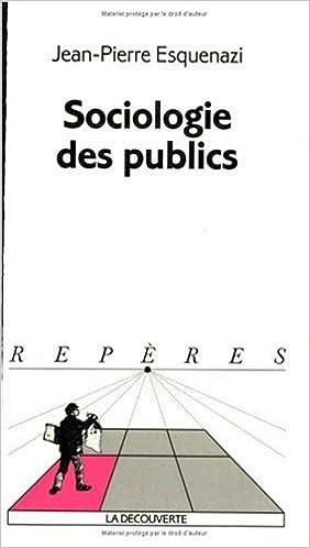 Livres gratuits Sociologie des publics pdf ebook
