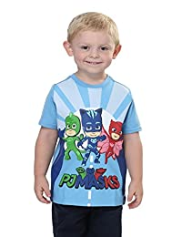 PJMASKS Boys Toddler Boys Pj Mask Short Sleeve Shirt