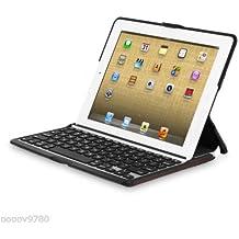 ZAGGfolio Case for Apple iPad 2, 3 & 4Gen w/Keyboard Alligator Leather Brown