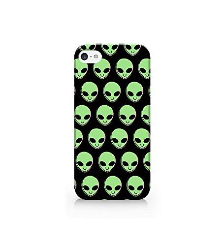 Cream Cookies - Plastic case for iPhone 4/4S - 3D Alien - Aliens - Alien - Alien Head - Alien Pattern - Cute - Fun - Funny