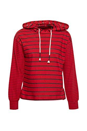 610 By lunghe Esprit da rosso scuro a rossa donna Camicia maniche Edc xqwEZWIOP