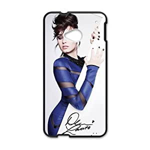 DAZHAHUI Demi Lovato Cell Phone Cell Phone Case for HTC One M7 wangjiang maoyi