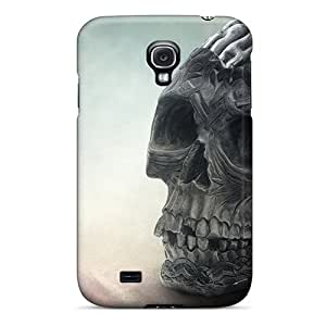 CAfqc22135TpXWE Snap On Case Cover Skin For Galaxy S4(brain Skull)