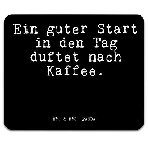 Mr Mrs Panda Mauspad Mit Spruch Ein Guter Start In Den