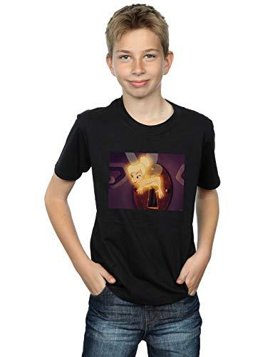 Tinker T Lock Disney Garçon Bell Noir shirt Squeeze 5gaqxw
