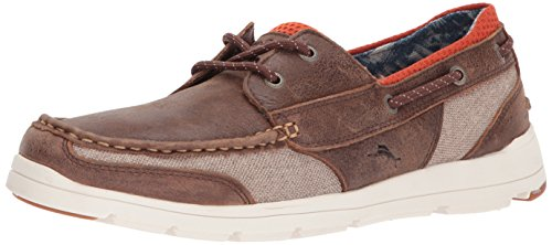 Tommy Bahama Mens On Par Spectator Boat Shoe Dark Brown vUNW5FOzL
