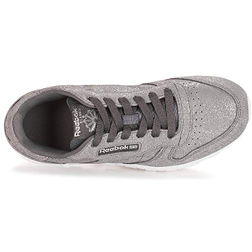 w 0 ash Chaussures ms De pewter Femme Leather Reebok Grey Fitness Classic Multicolore 7wPRqZ