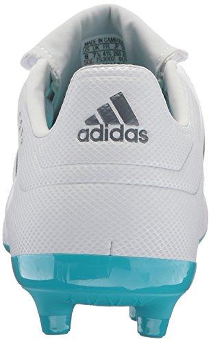 adidas Männer Copa 17.3 Feste Bodenplatten Fußballschuh Weiß / Onix / Klares Grau
